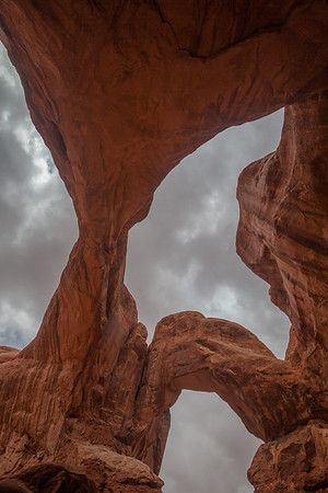 Underneath Double Arch