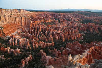Bryce Canyon Sunrise at Bryce Point