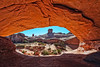 Arches NP - Eye of the Whale Arch