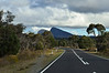 Grampians National Park<br /> Heading from Halls Gap to Dunkeld.  Taken through the front window of the car.<br /> May 2013