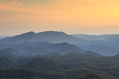Orange Mountain Vista