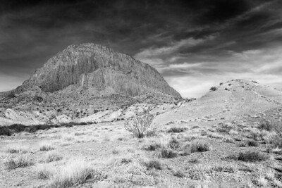 Columnar mountain near Big Bend