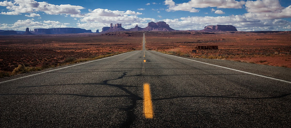 163 South to Monument Valley