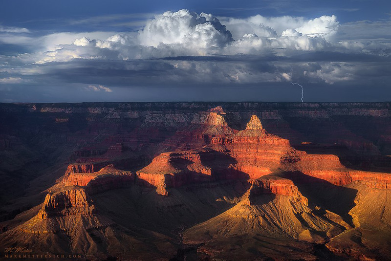"""Grand Monsoon"" Grand Canyon - Arizona"
