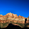 Zion National Park, shortly before sunset