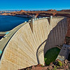 Glen Canyon Dam with Navajo Bridge Shadow