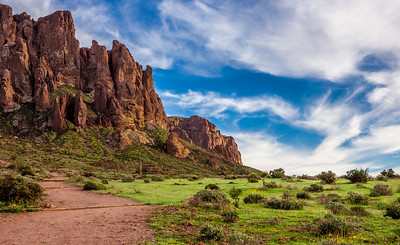 Springtime at the Superstitions