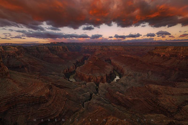 Tatahatso Crimson - Remote Grand Canyon