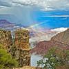 Rainbow and Rain Squall
