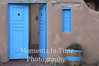Taos blue doors