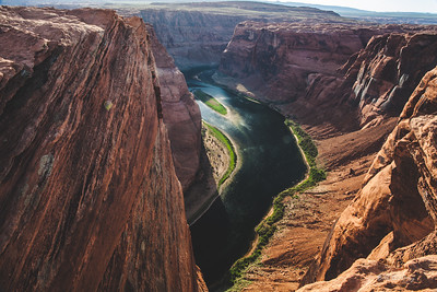 """Down the Horseshoe Bend"""