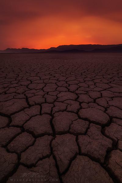 """Barren"" (Oregon's remote Alvord desert)"