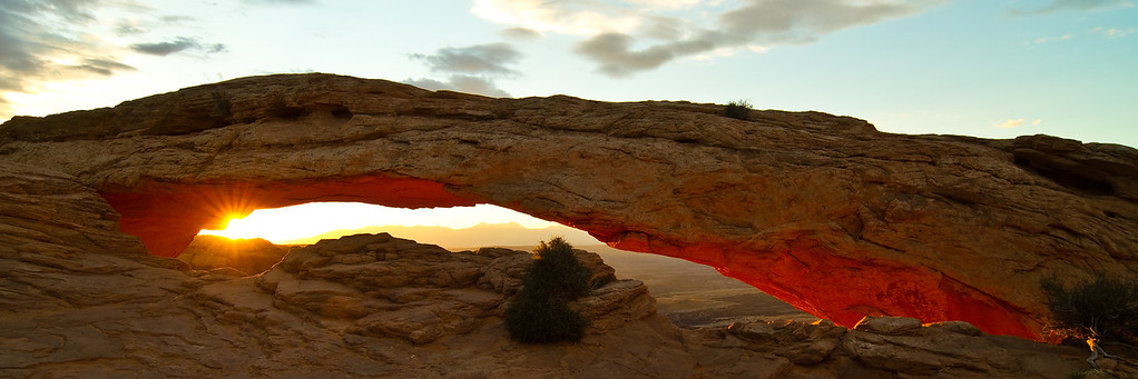 Mesa Arch at Sunrise.  Absolutely worth the 3:30am wake-up call!