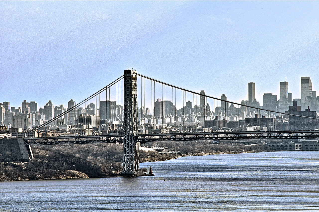 New York City_Through George Washington Bridge