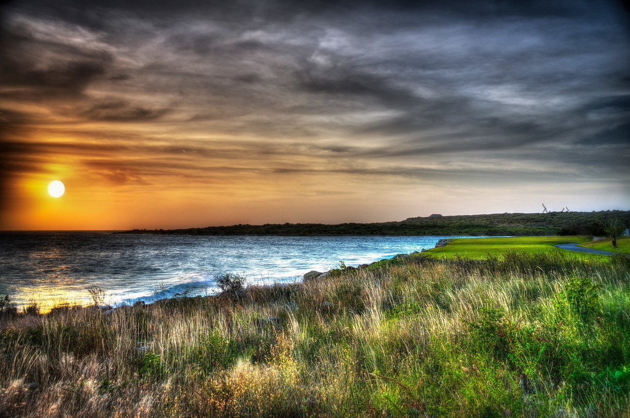 Curacao_Sunset from GolfCourse