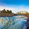 Spokane Falls and the Park