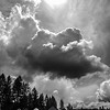 48  G Barn and Clouds BW V
