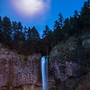 78  G Multnomah Falls and Moon V
