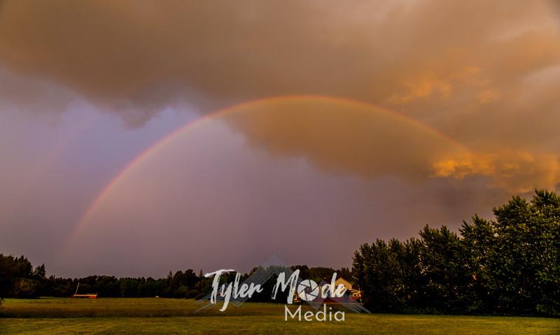 7  G Sunset Rainbow Lighting
