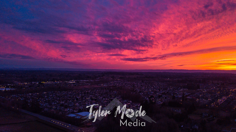 6  G Drone Sunset SW