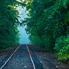 18  G Railroad Tracks Morning Mist