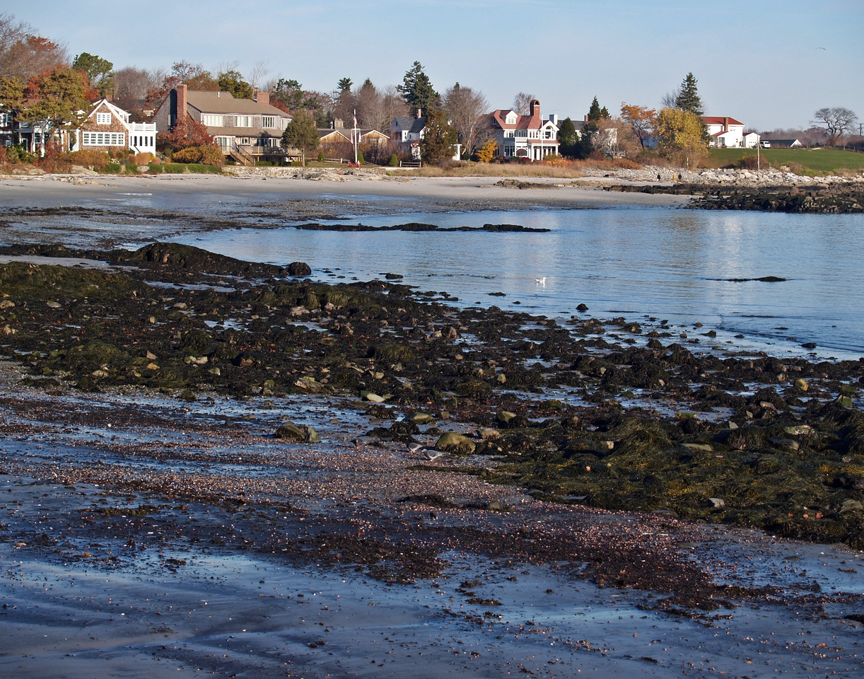 Beach front property in New Castle, NH.  Expensivo!