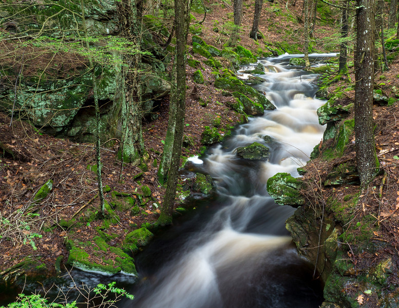 Tully brook cascade