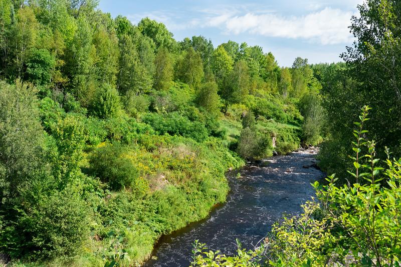 Prairie River overlook