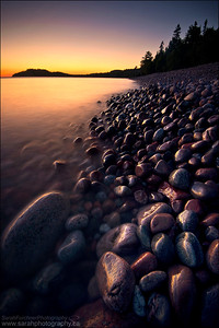 Gargantua Harbour, Lake Superior Ontario.