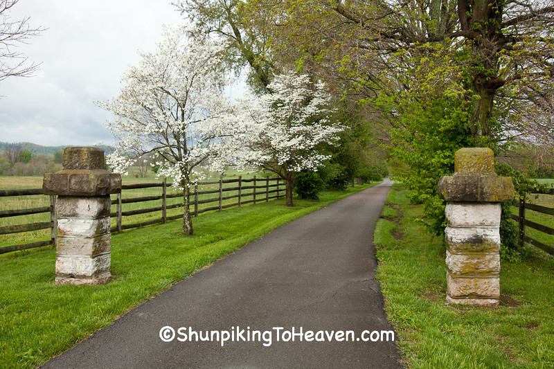 Entrance to Traveler's Rest, Lincoln County, Kentucky