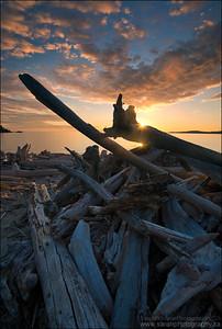 Lake Superior. Pukaskwa National Park, Ontario