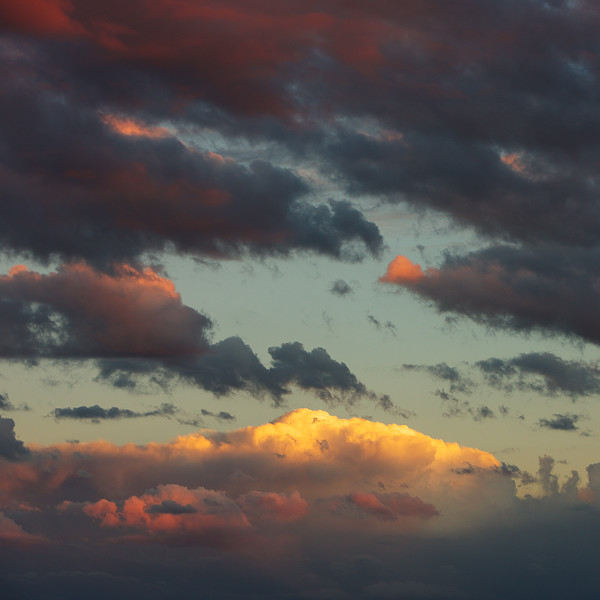 Sunset Clouds Three