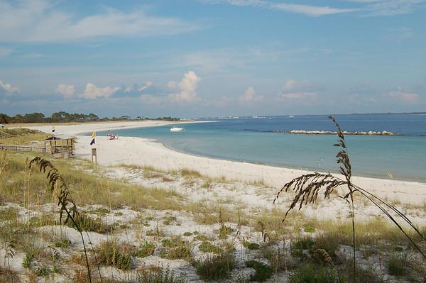 St Andrew State Park Beach