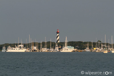 The Conch House Marina in Salt Run, with lighthouse in the background. Get notifications via: