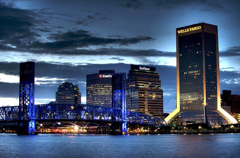 St Johns River at Night