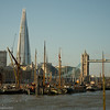 Thames Barges The Shard
