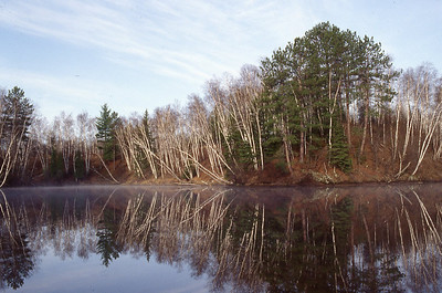 Cedar Bay coming off Kimball's Bay, Superior Municipal Forest: part of the St. Louis River estuary