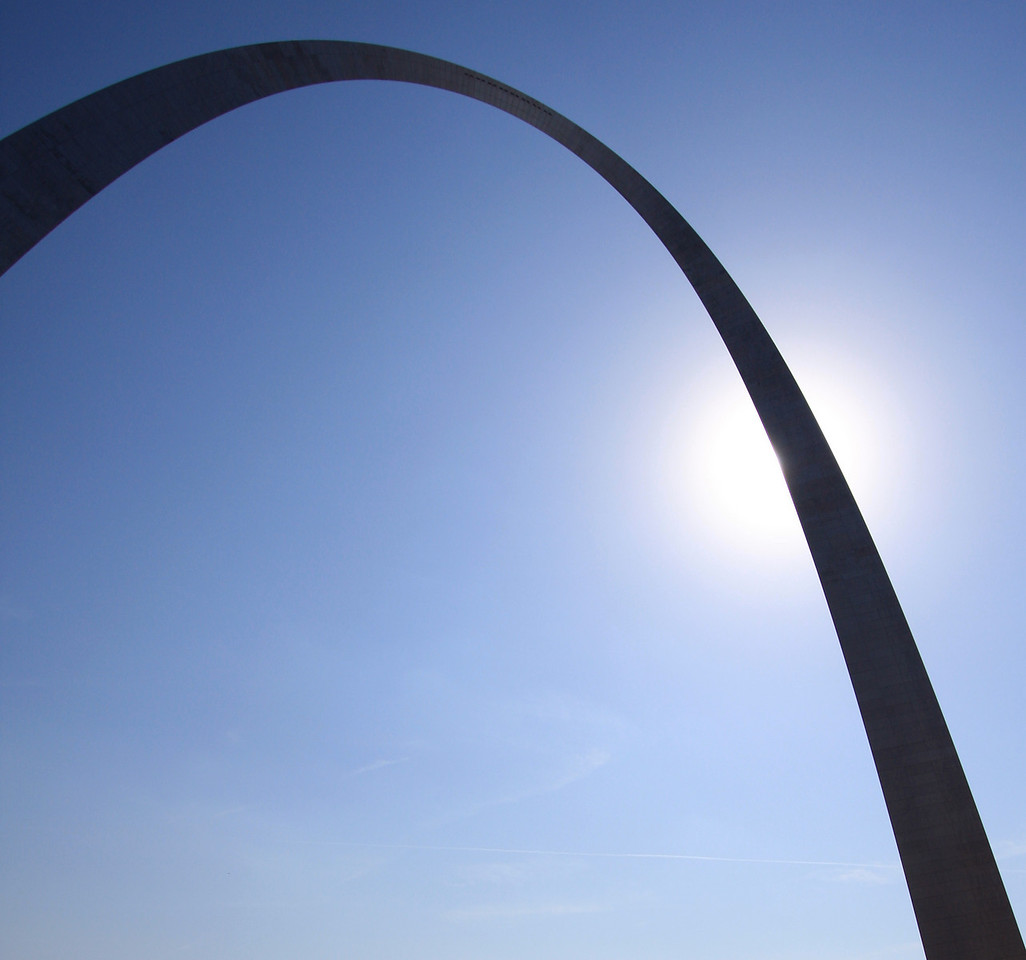 Gateway Arch<br /> <br /> St. Louis, March 2009
