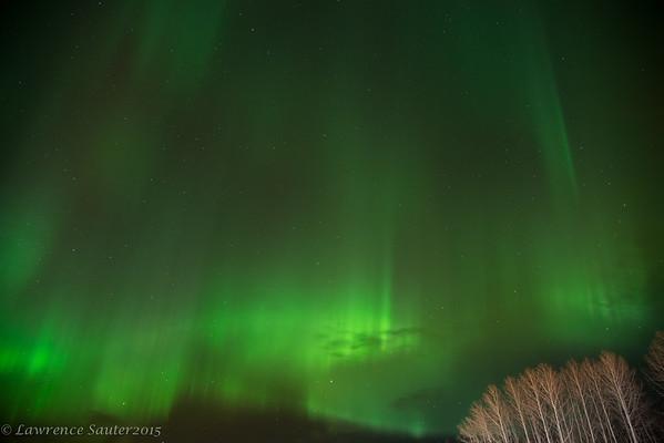 St. Patrick's Aurora Borealis
