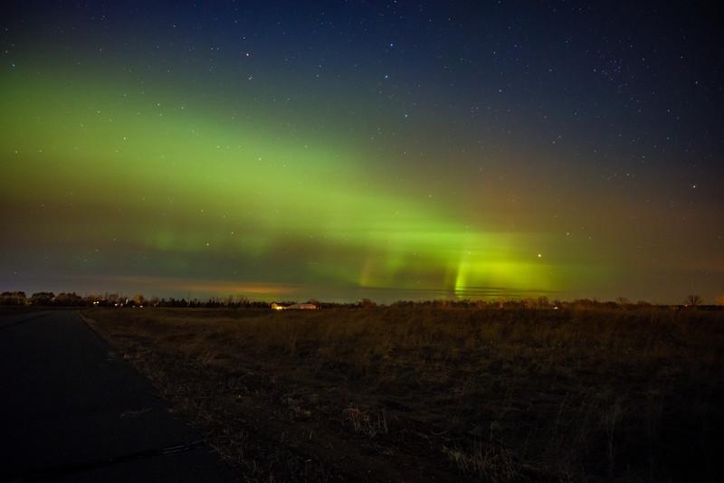 Rush City Northern Lights