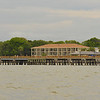 St. Simons Island Pier in Georgia from St. Simons Sound 04-21-12