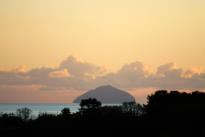 Aisla Craig - a volcanic plug in the Firth of Clyde