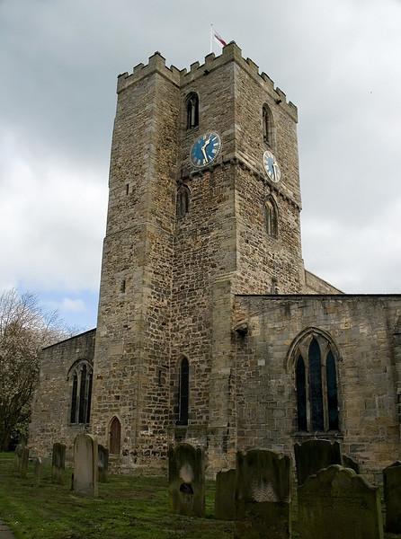 St Mary the Virgin church in Staindrop