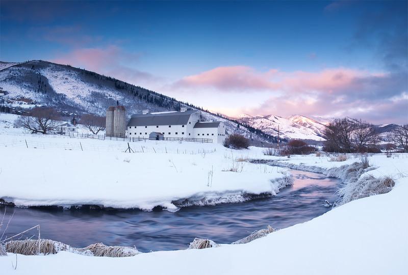 McPolin Barn, Winter Morning