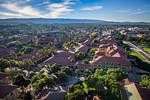 """""""Aerial View of the Stanford Memorial Church on the Stanford Campus"""""""