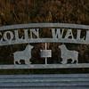 Memorial to WO Colin Wall