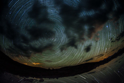 Startrails on Taylor Pass