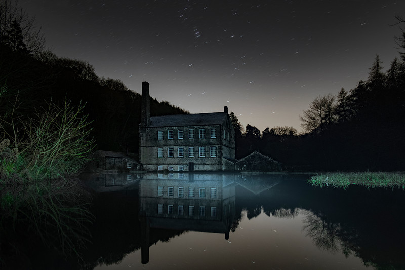 Gibson Mill Under Starlight