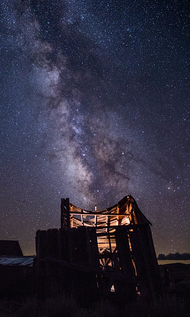 Milky Way Rising, Bodie