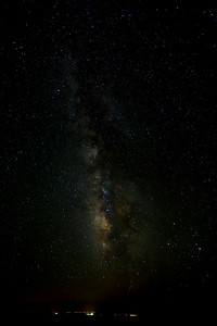 Milky Way and South Rim Lights